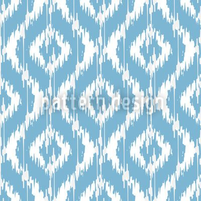 Indonesian Ikat pattern designed by Michael Bayquen, available as a ...