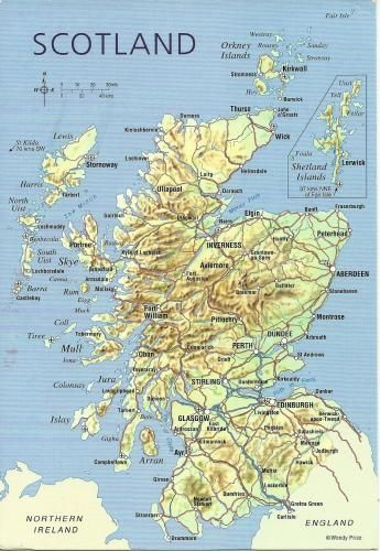Map Of Uk Highlands.Scotland Scotland United Kingdom Map West Highland Way Map Map
