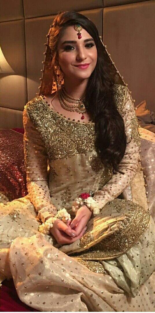 Ramsha khan | Pakistani bridal couture, Pakistani wedding ...