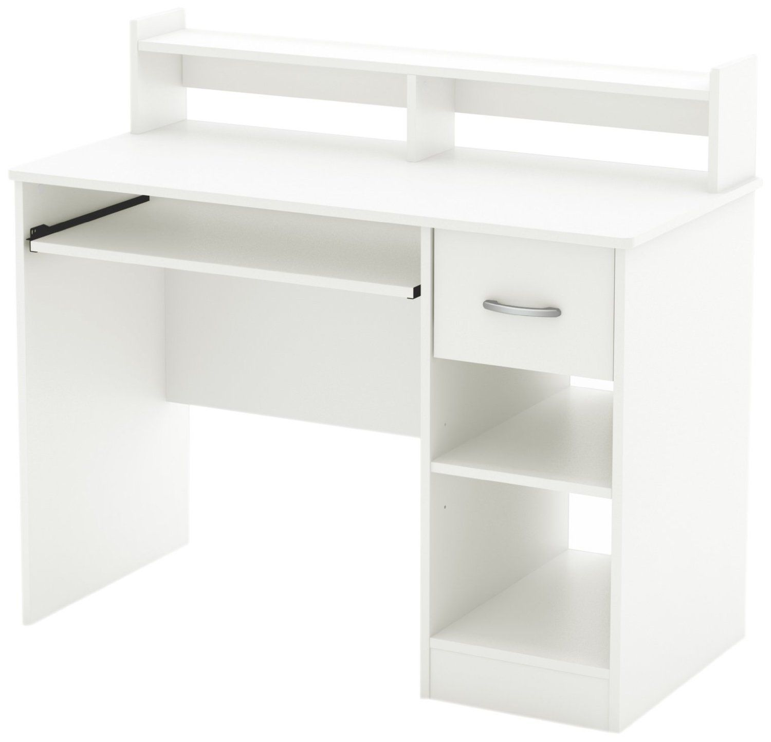 amazon home office furniture. Amazon.com - South Shore Axess Collection Desk, Pure White Home Office Desks Amazon Furniture U