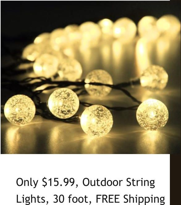 Outdoor Christmas Lights, Decor, FREE 2 Day Shipping, Amazon DEALS