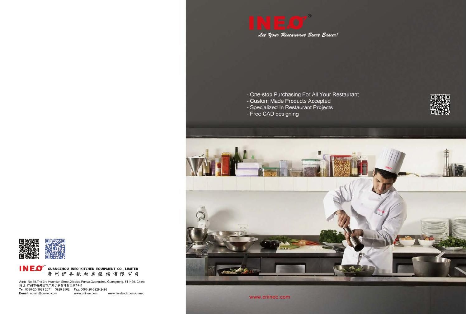 INEO Commercial Kitchen Equipment Catalogue | Kitchen equipment ...