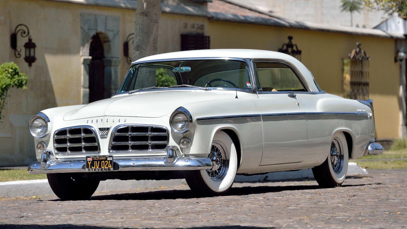 1955 Chrysler C300 presented as Lot S71 at Houston, TX
