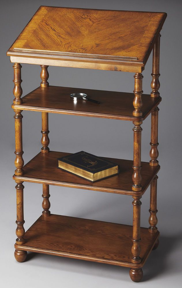 Westwood Library Stand Bookcase Dictionary Stand Traditional Free And Book Stands