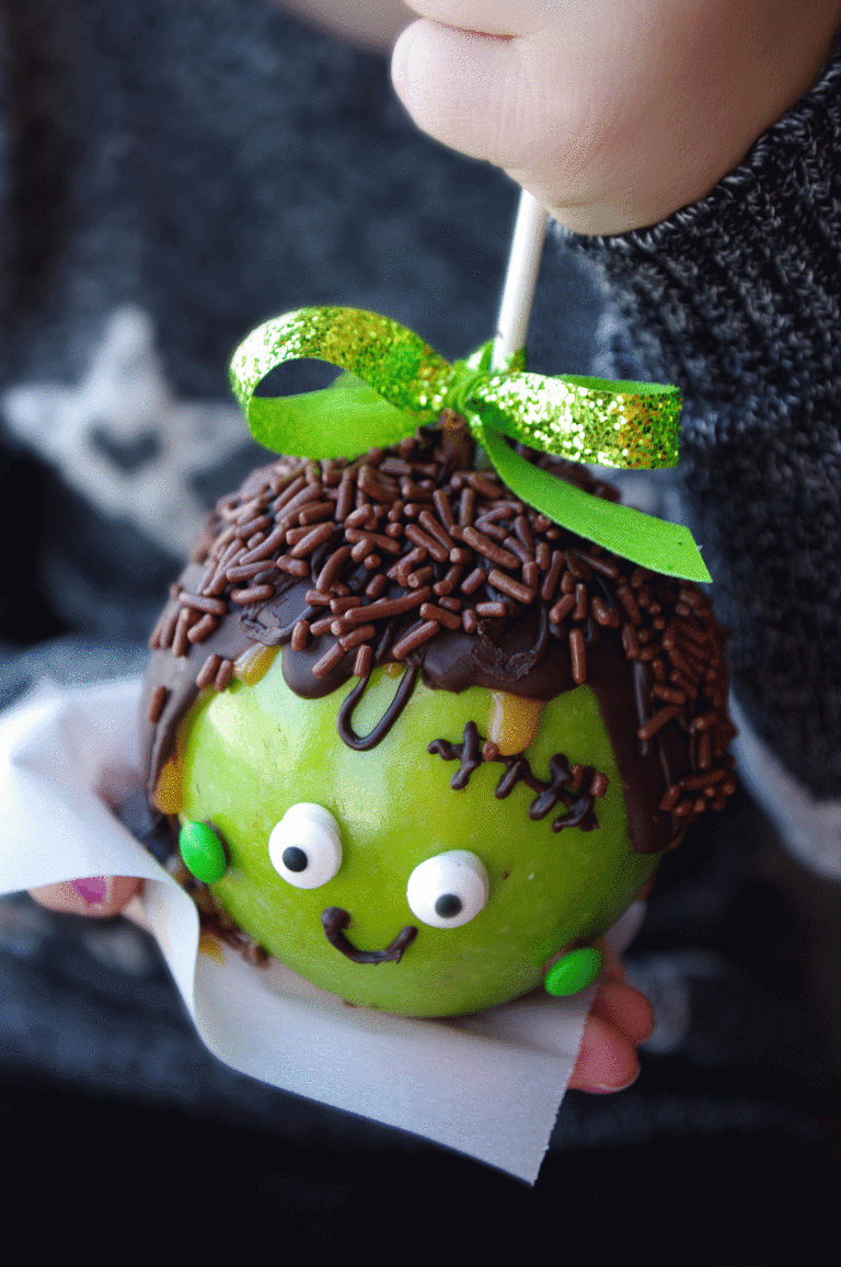 Halloween caramel apples Caramel apples halloween