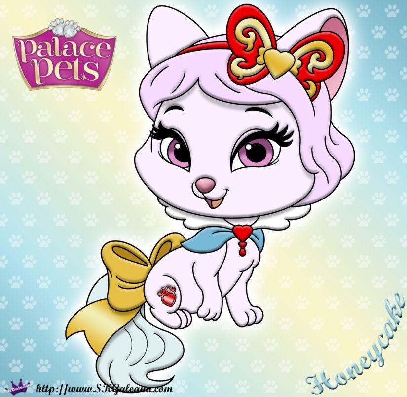Princess Palace Pets Coloring Page of Honeycake Princess