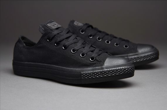 Converse Chuck Taylor All Star Ox Black Monochrome in