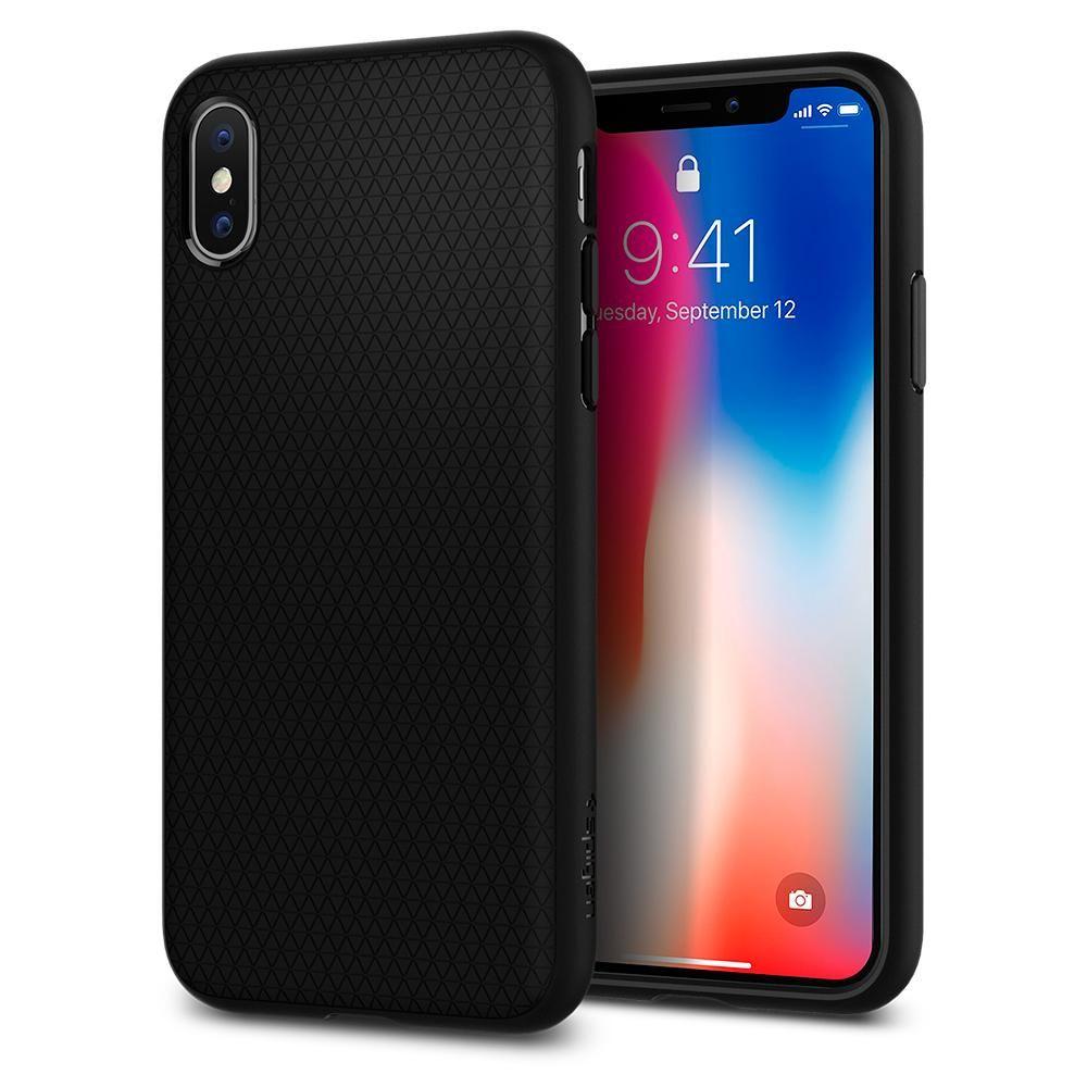 Iphone X Case Liquid Air Iphone Spigen Apple Iphone