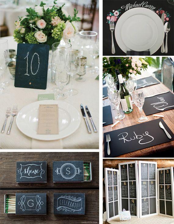 Comment utiliser les ardoises pour la décoration de votre mariage ?
