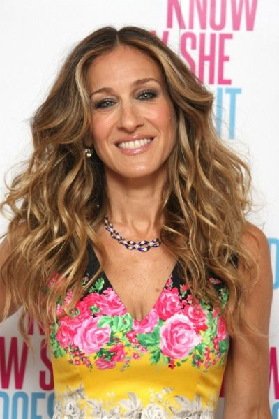 Curly Hairstyles Sarah Jessica Parker Pinterest Cabello Color