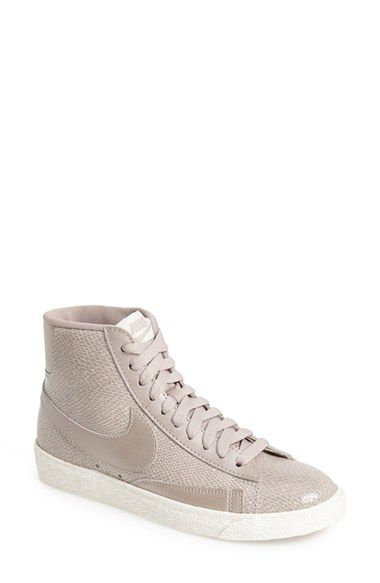 online retailer d15bd 0b82c Nike Blazer Mid Sneaker (Women) at Nordstrom.com. A snake-embossed upper  and signature Swoosh style a classic mid-cut street sneaker modeled after  ...