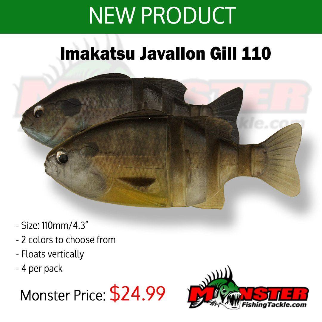 New Product Imakatsu Javallon Gill 110 Very Versatile Swimbait Shop Monster Http Ift Tt 2tk47ho Imakatsu Http Javallongillpic Twitter Com Juaa4xp9xk New Product Shopping Versatile