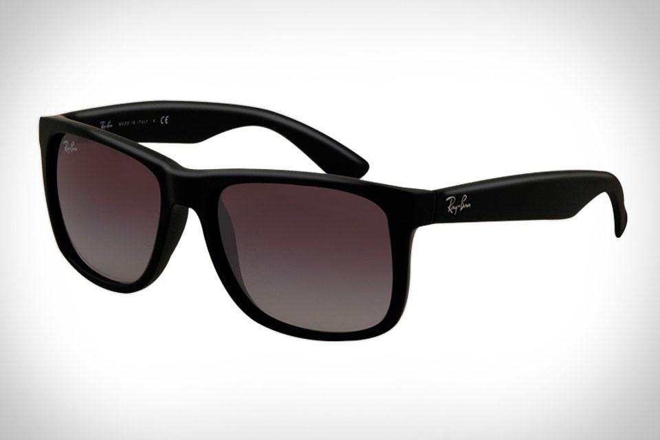 66ac5a85a Ray-Ban Justin Sunglasses ($110). A thick frame, subtle fade and darker  look.