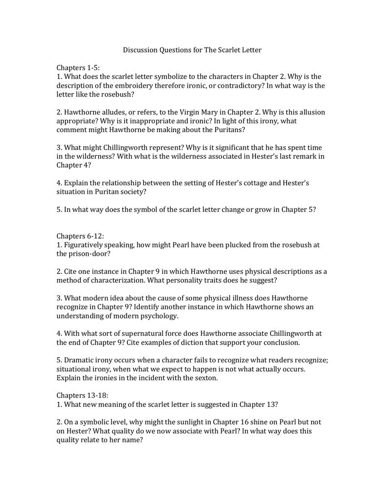 scarlet letter chapter 13 summary scarlet letter