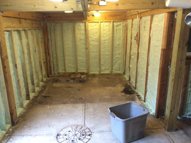 Closed cell spray foam insulation kits that are easy to use Proven
