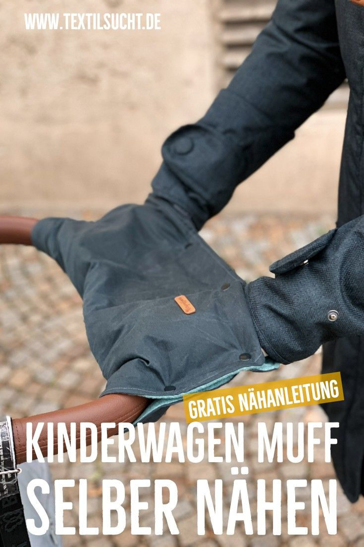 Photo of Kinderwagenmuff nähen – nie wieder kalte Hände