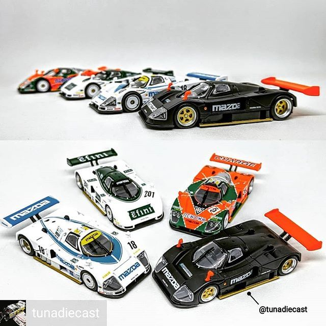 Credit to from @tunadiecast (@get_regrann) -  Trivia quiz: which Mazda 787b won the 24 hours Le Mans? . #diecast_daily #diecastsyndicate #diecastcars #diecastindonesia #hotwheelsphotography #diecastcollection #diecastcollectors #diecast #diecastphotography #diecastaddict #jualdiecast #indonesiandiecaster #hotwheelsaddict #jdm #jualhotwheels #hotwheelscollector #diecastcar #diecaster #hotwheelscollectors #lemans #diecastlovers #customdiecast #diecastcollector #hotwheels #diecastpics #tunadiecast