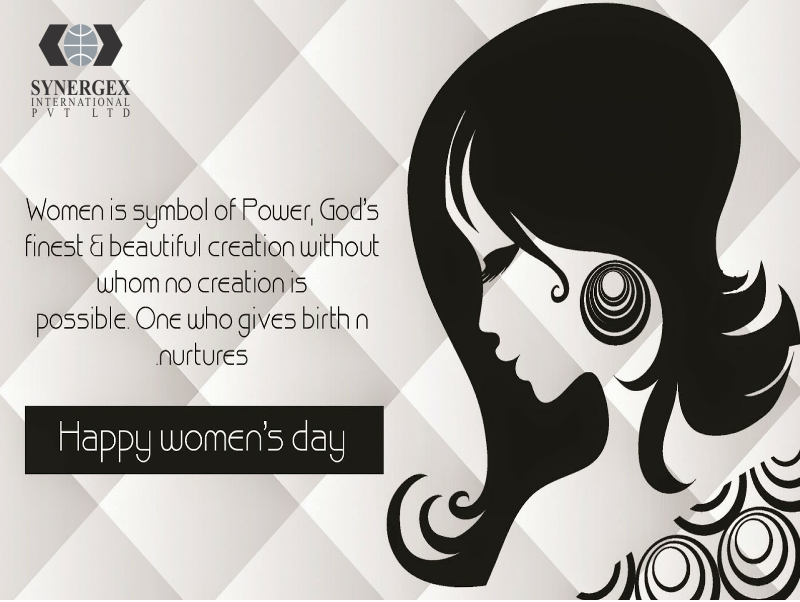Women Is Symbol Of Power God S Finest Beautiful Creation Without Whom No Creation Is Possible One Happy Woman Day Womens Day Quotes Happy Womens Day Quotes