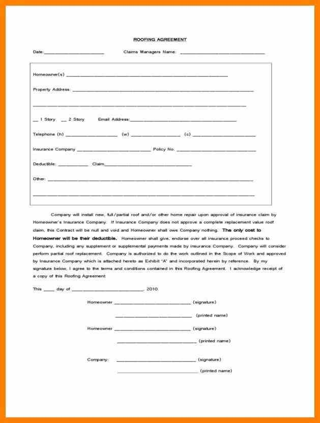 form u templates templatepng loan application roofing Roofing - sample loan contract templates