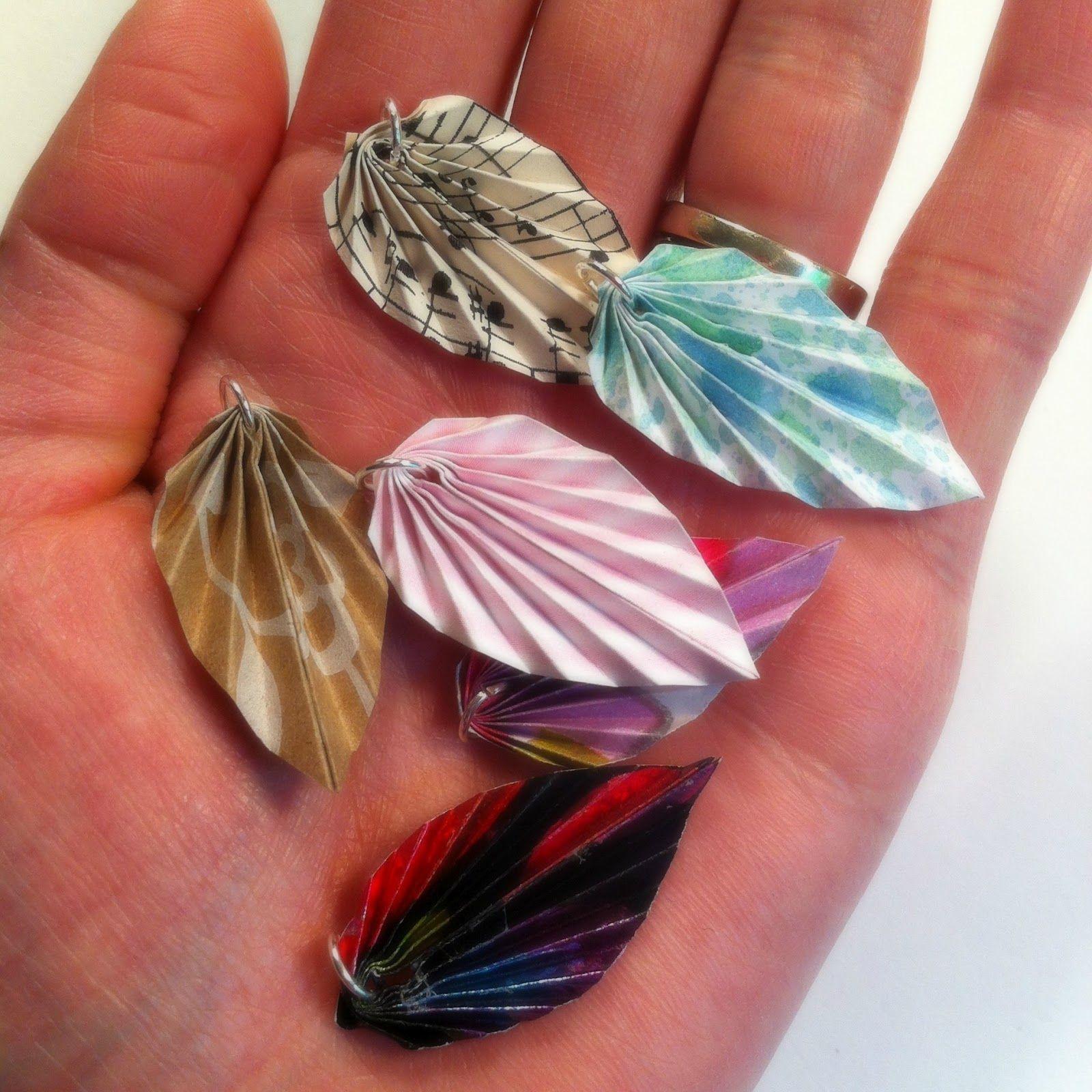 stepping thru crazy origami leaves decor ideas