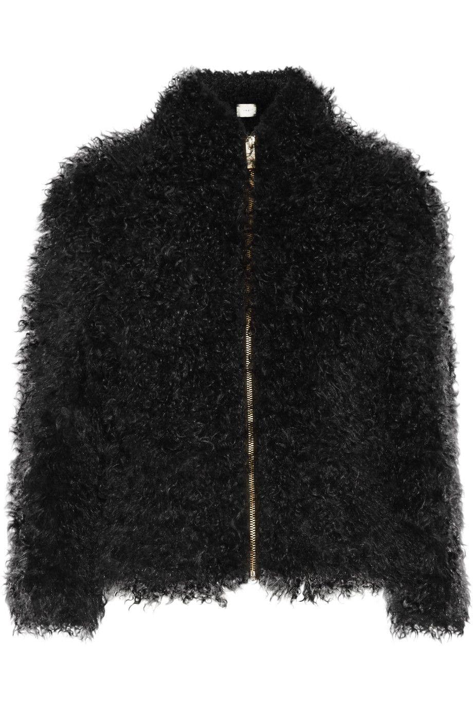 IRO Kald shearling jacket. #iro #cloth #jacket