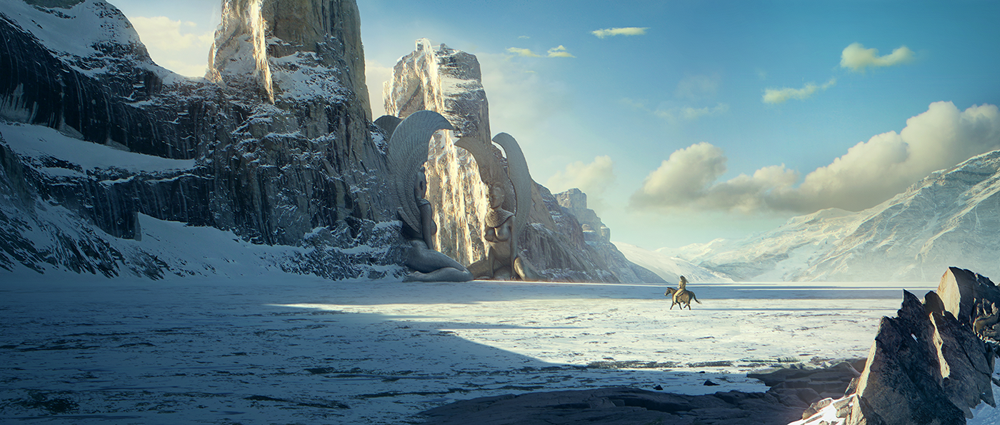 Portfolio of selected recent matte painting projects for Matte painting