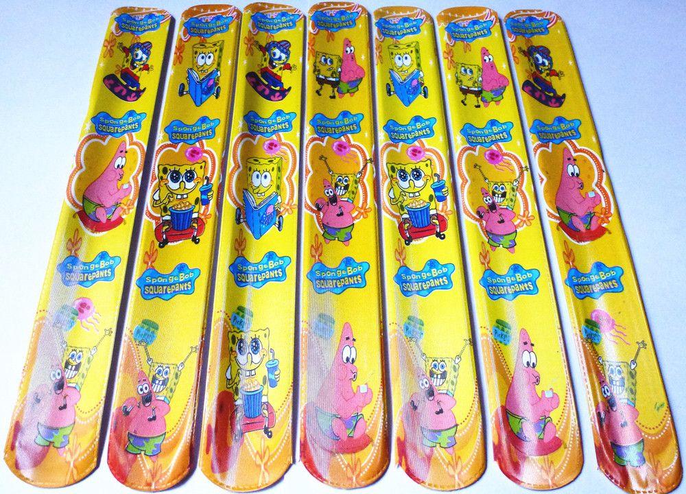Bracciali braccialetti slap bambini spongebob un 39 idea for Cerco in regalo tutto per bambini