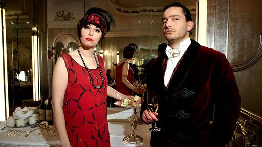 the Supersizers Go    1920s  | tv | Formal dresses, Tv chefs, The