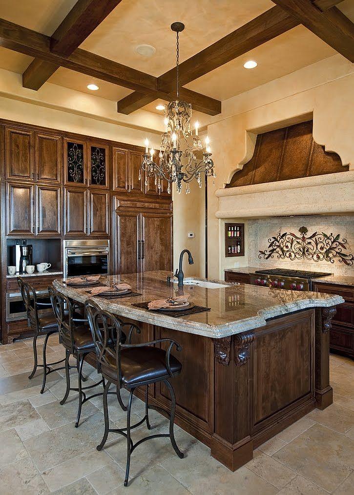 Luxury Mediterranean Kitchens Design Ideas Kitchen Design And