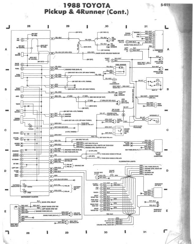 astounding toyota 4runner wiring diagram contemporary diagram Toyota Tacoma Trailer Wiring Diagram 2004 Toyota Tacoma Wiring Harness Diagram 1992 tacoma wiring diagram