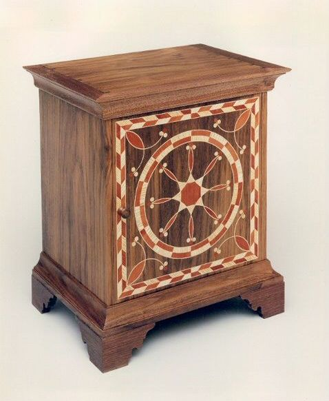 Pennsylvania Spice Box Plans: Gary Green-Spice Box