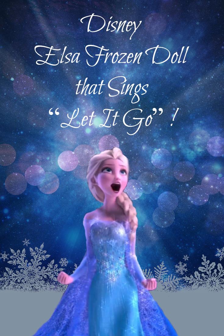 Disney Elsa Frozen Doll That Sings Disney Frozen Dolls Disney Elsa Disney