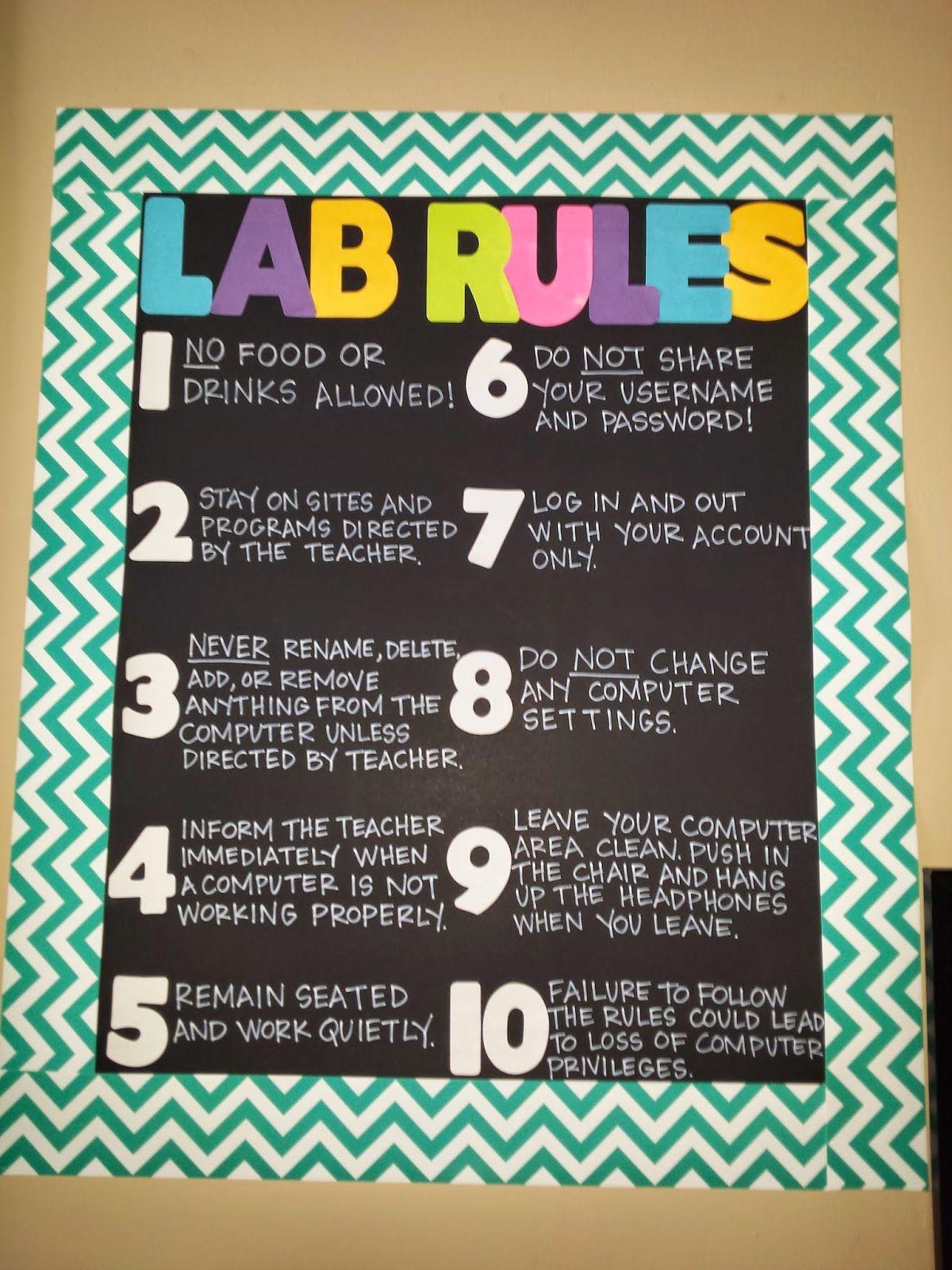 Computer lab rules.pdf