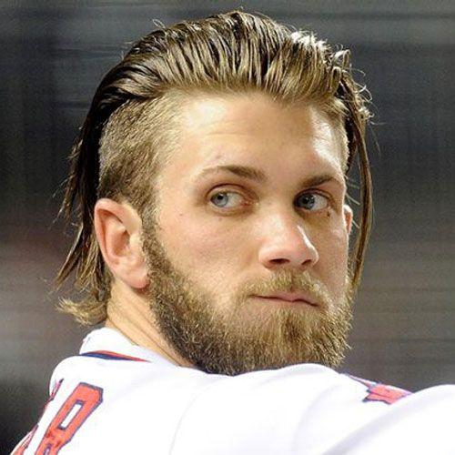 Bryce Harper Hairstyles Men S Hairstyles Haircuts 2020 Long Hair Styles Men Bryce Harper Haircut Mens Hairstyles