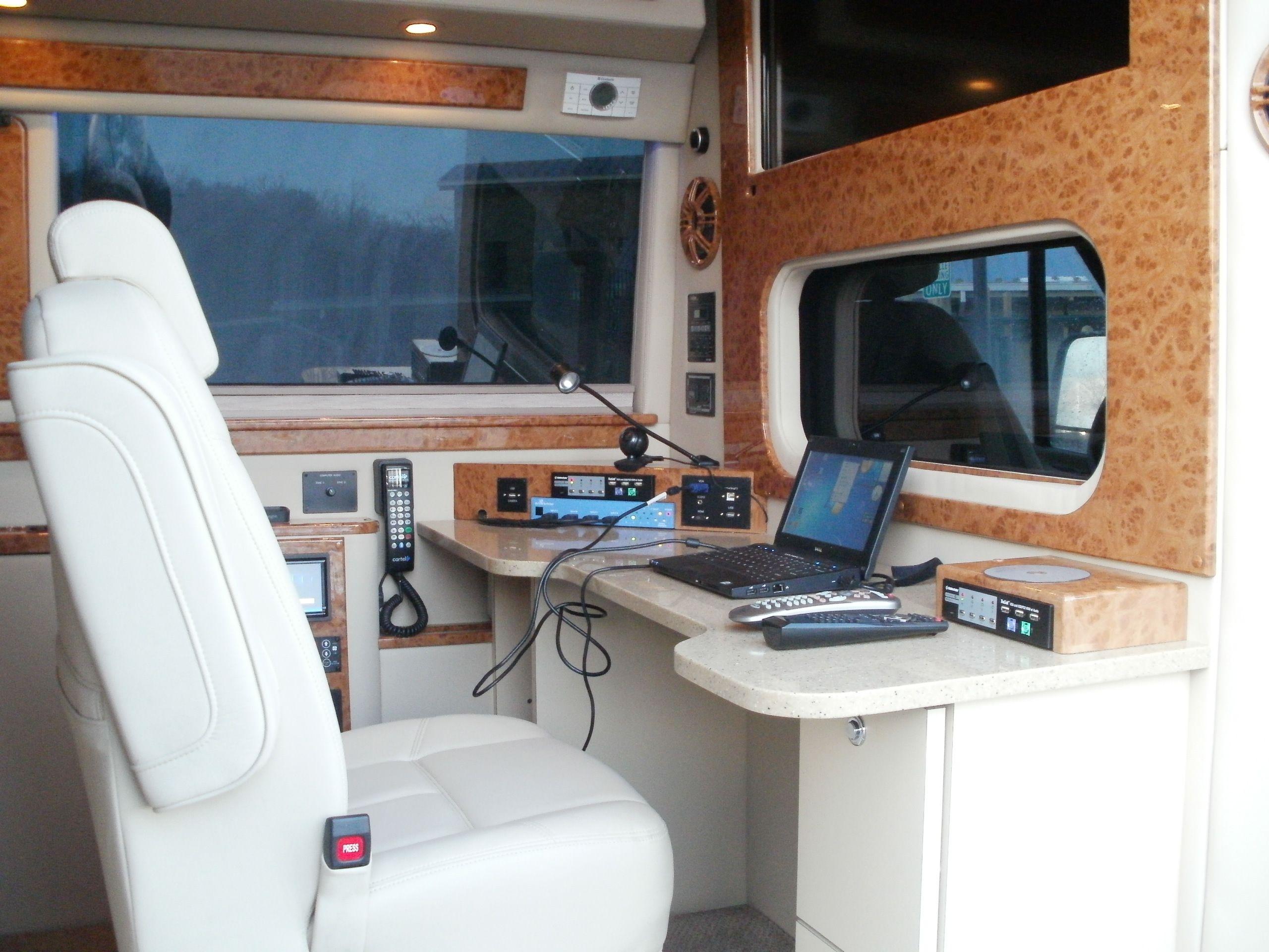 Introducing The Landjet Executive Mobile Office Mercedes Sprinter Transport Coach Van Interior Mobile Office Van Home