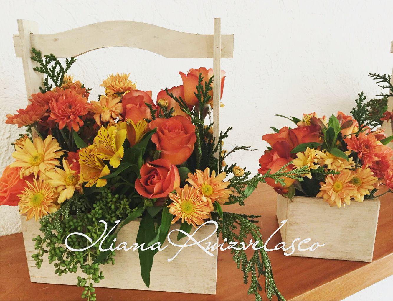 Diseño floral centro de mesa Iliana Ruizvelasco