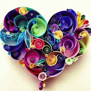 Colorful heart.