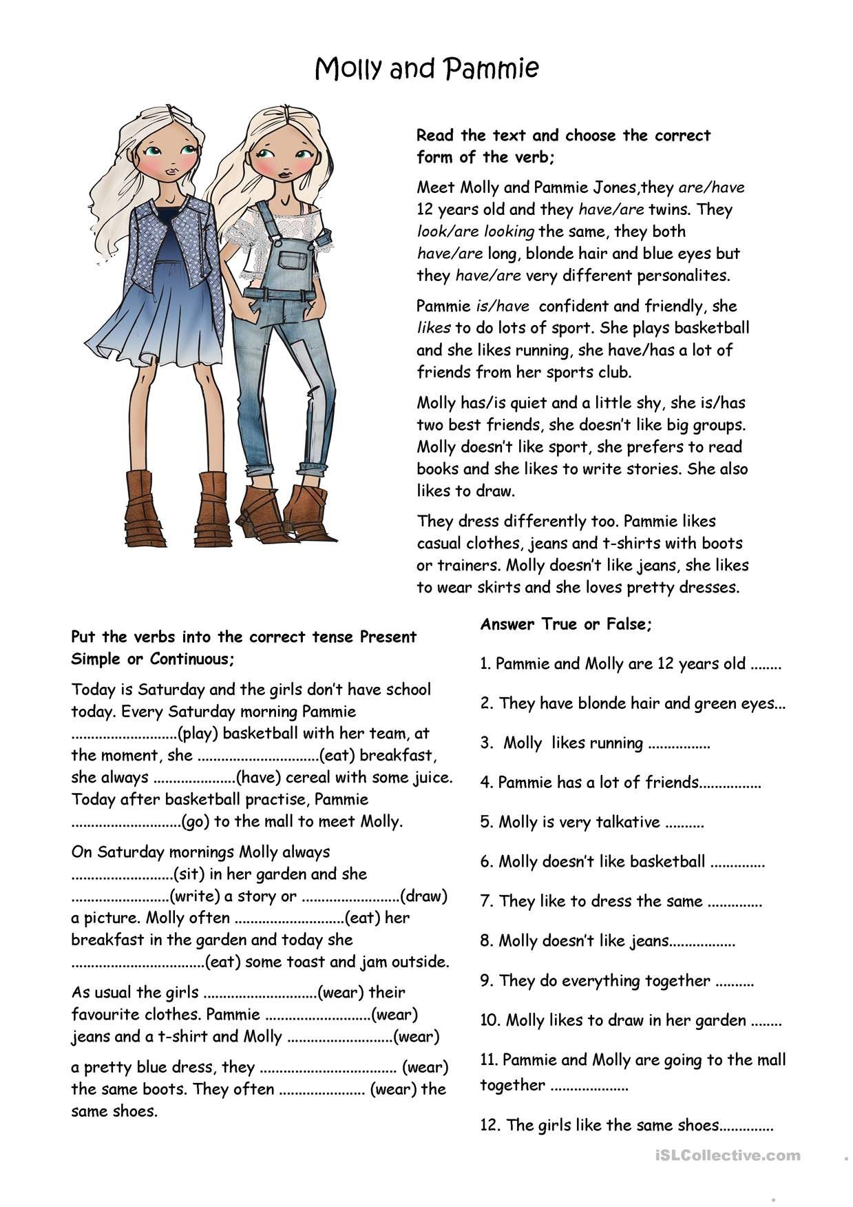 One Click Print Document English Reading Reading Comprehension Lessons Reading Comprehension Printable english reading materials for