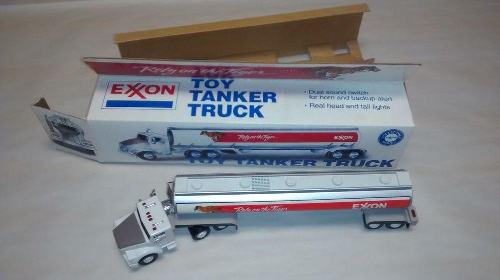 1992 exxon collectable toy tanker truck original box