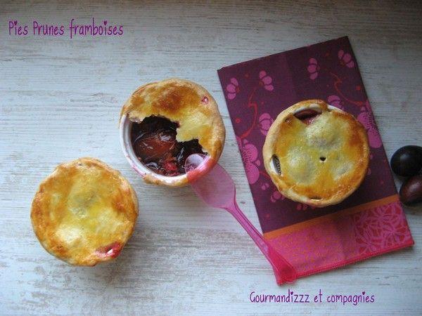 Pies Prunes Framboises... cuisine-sucree