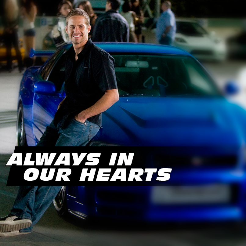 So we all lost not only a great actor but a fantastic person who was involved in lots of charity work. Meadow, we're so sorry about your dad. He will definitely be missed. RIP Paul Walker 1973-2013