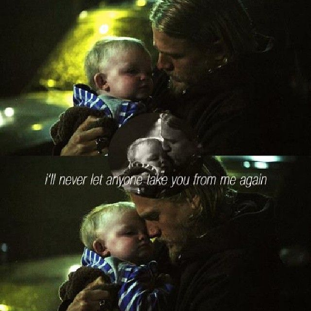 Abel And His Daddy Charlie Hunnam Jackson Teller Sons Of Anarchy