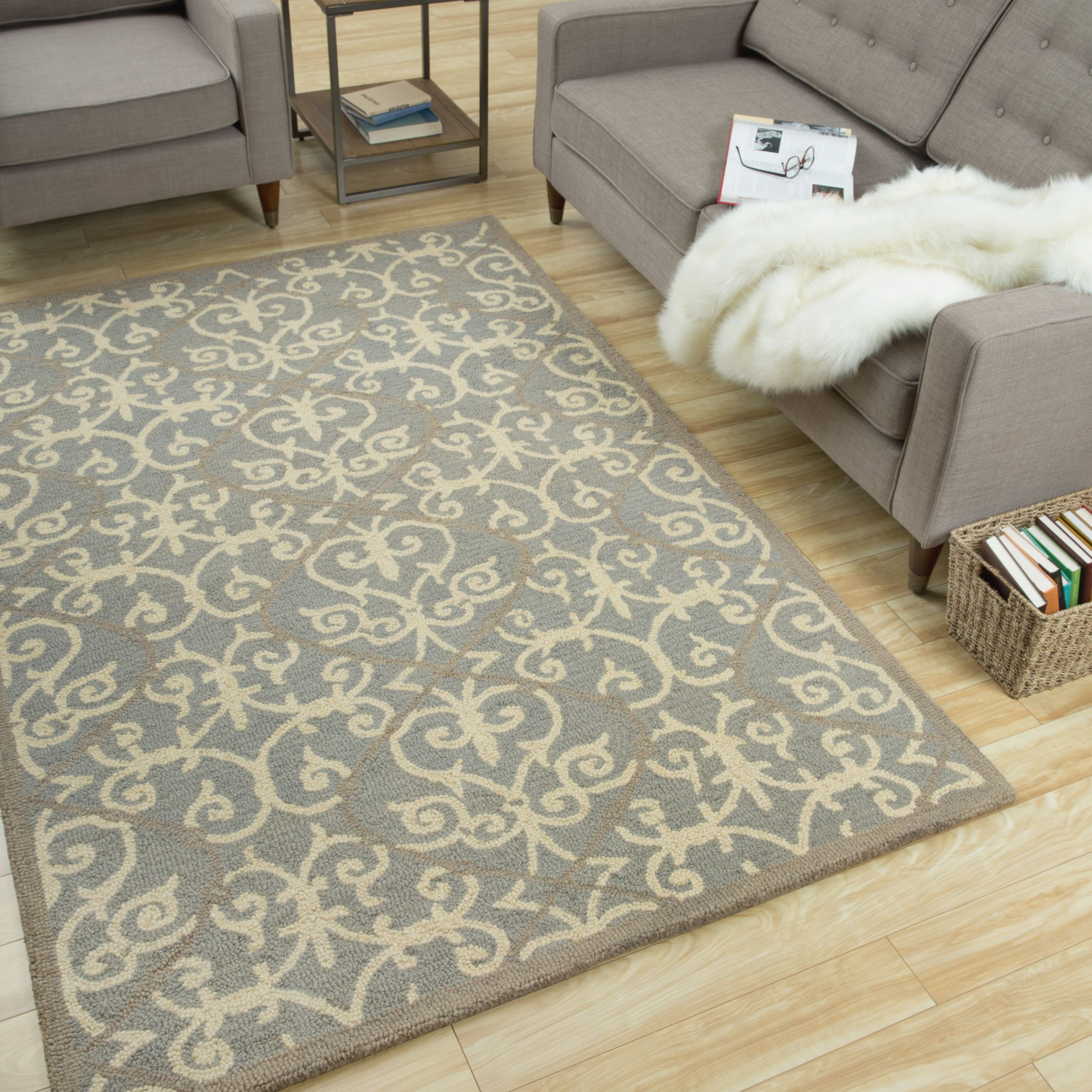 Patterned Area Rugs Interesting Decoration