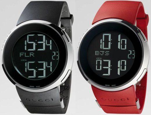 gucci men s watches go digital fancy schmancy menswear gucci men s watches go digital fancy schmancy