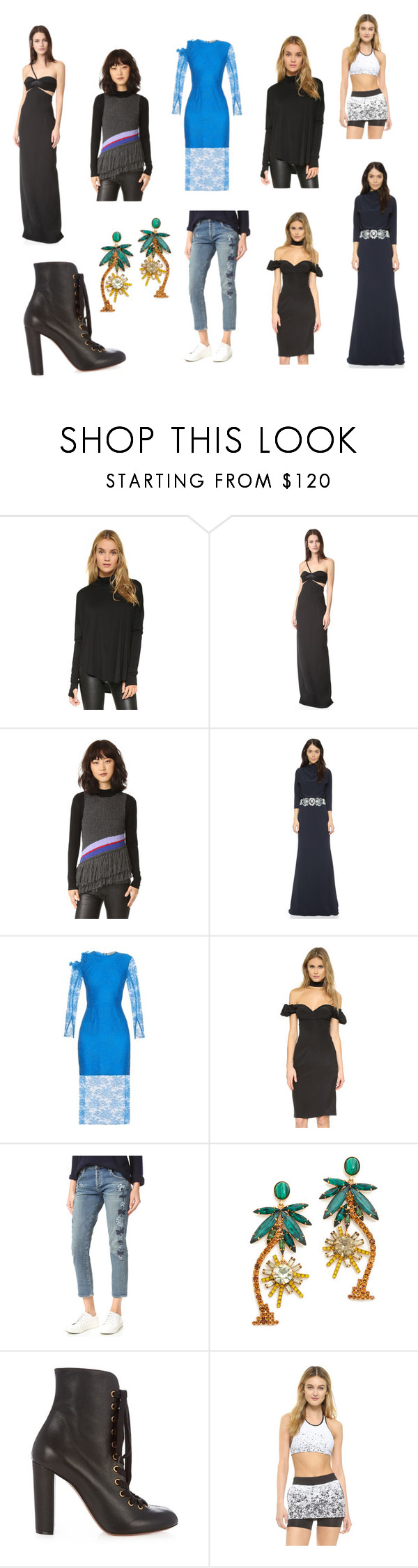 """""""fashion dreams"""" by kristen-stewart-2989 on Polyvore featuring Feel The Piece, Brandon Maxwell, Harare, Badgley Mischka, Preen, Alexis, Citizens of Humanity, Elizabeth Cole, Chloé and Koral Activewear"""