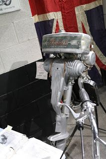 1930 Indian Silver Arrow 2-Stroke Outboard Motor at the