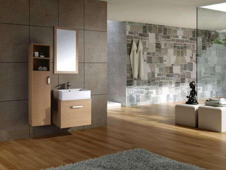 Bagno Legno E Grigio : Arredi per il bagno in legno e grigio bagno in stile orientale