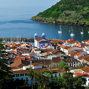 Set #Sail to #Azores: The volcanic islands of the Azores are located 1500kms west of Lisbon, Portugal lying literally in the middle of the Atlantic ocean. There are 9 islands, Flores, Corvo, Graciosa, Terceira, São Jorge, Pico, Faial, São Miguel, Santa Maria and the Formigas Reef. Azores are easily accessible with direct flights from Portugal and Germany.