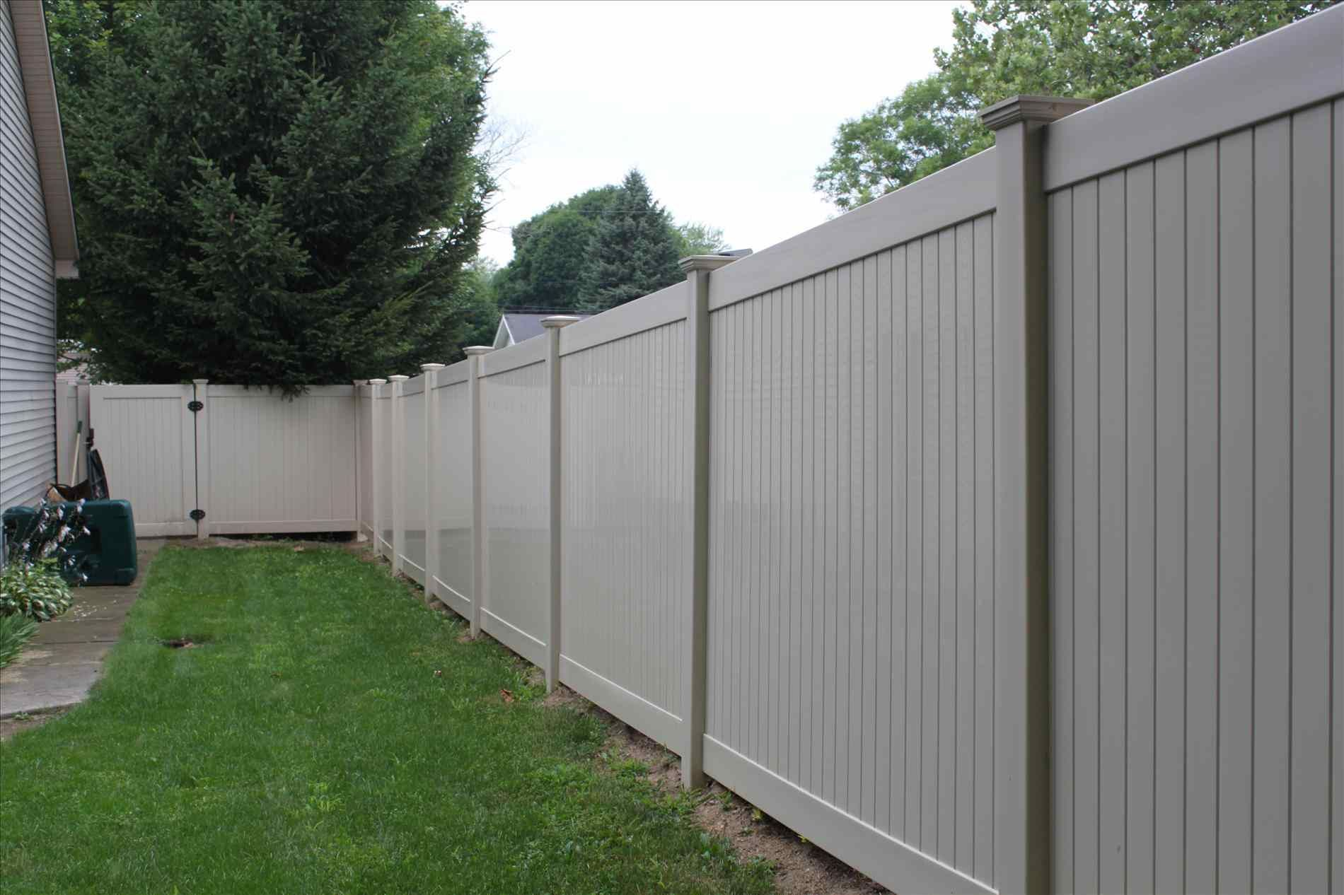 Pictures Of Vinyl Fence Colors