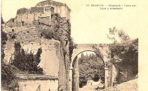 Torre del Agua, Alhambra, Granada, Spain